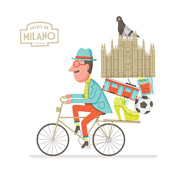 Funny Illustrations by Mauro Gatti