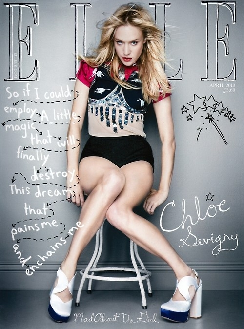 Elle magazine cover typography | Inspiration DE