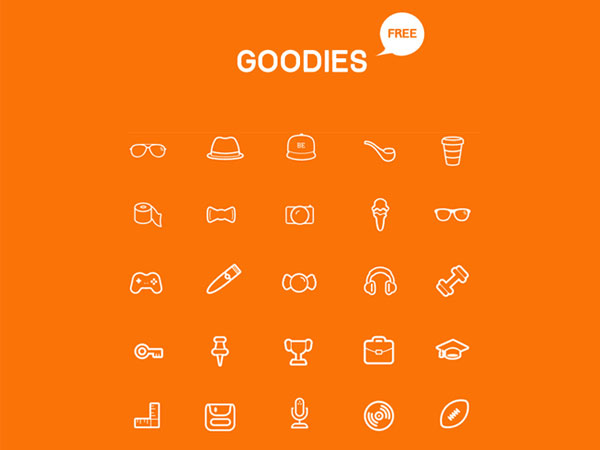 Goodies Icon Set - FreebiesXpress
