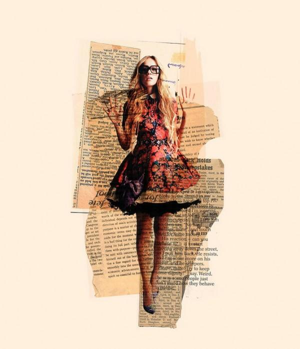 Arian Behzadi's Mixed-Media Collages | Trendland: Fashion Blog & Trend Magazine