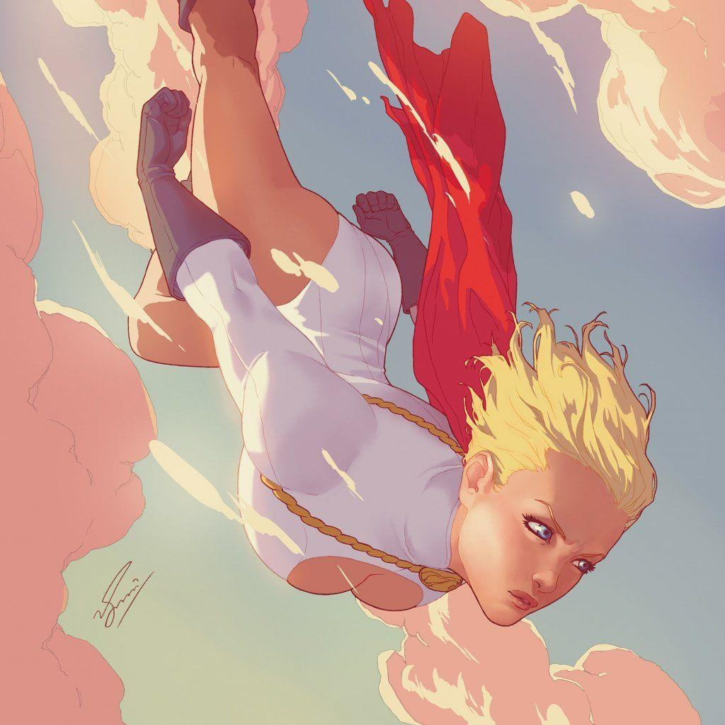Power Girl Image Gallery