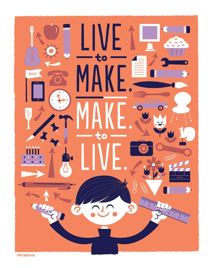 Live to make. Make to live – The Inspiration Stream | Inspiration DE