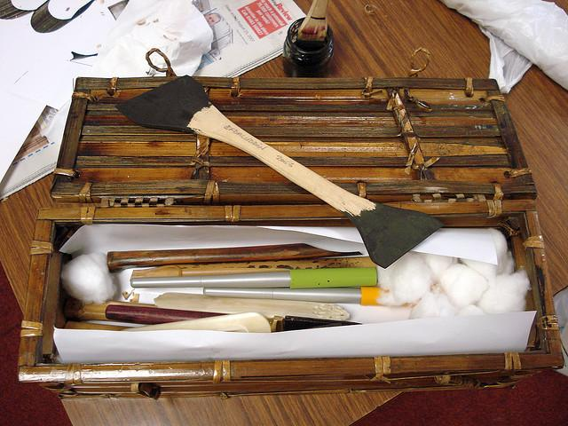 Master Calligrapher's 'toolbox' | Flickr - Photo Sharing!