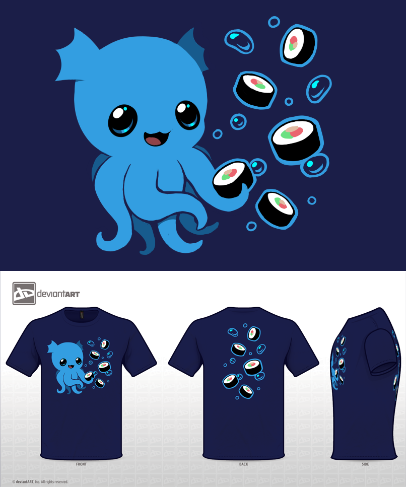 Sushi Monster by =Kawiko