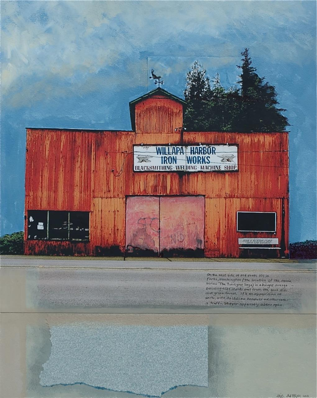 Eric Engstrom Blue Highways: RETROSPECTIVE / EVOLUTION at Gallery Route One