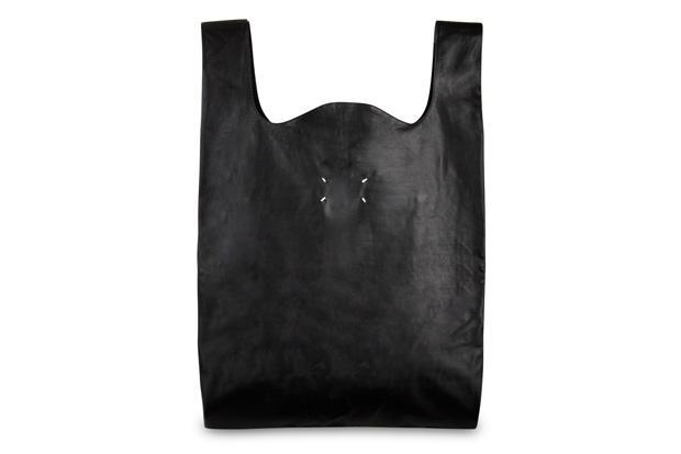 Maison Martin Margiela Leather Tote Bag   Hypebeast