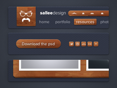 Sallee Design CSS3 elements by Jeremy Sallée