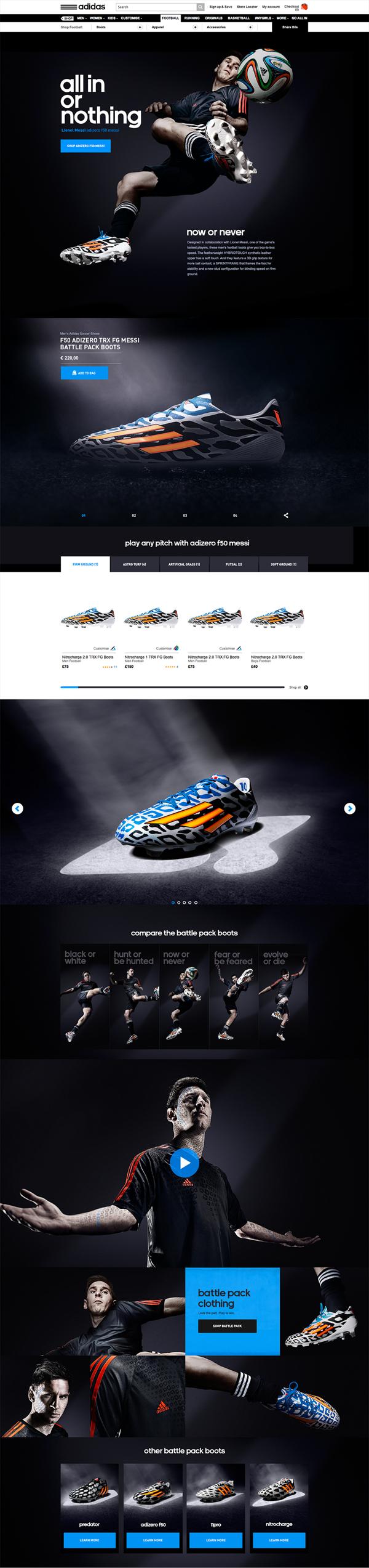 adidas - Battle Pack on