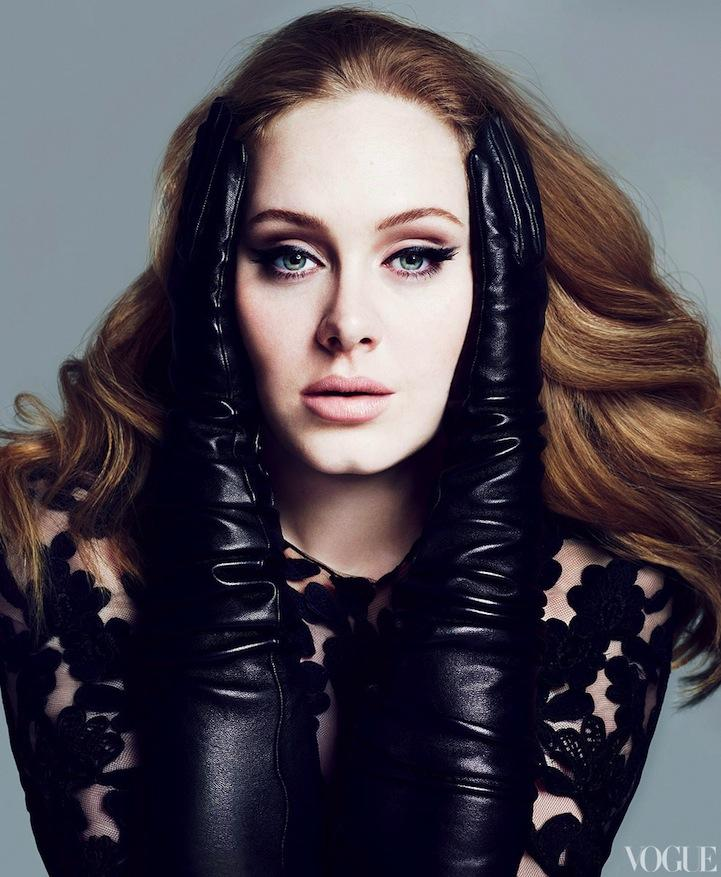 Grammy Winner Adele Glows in Vogue - My Modern Metropolis