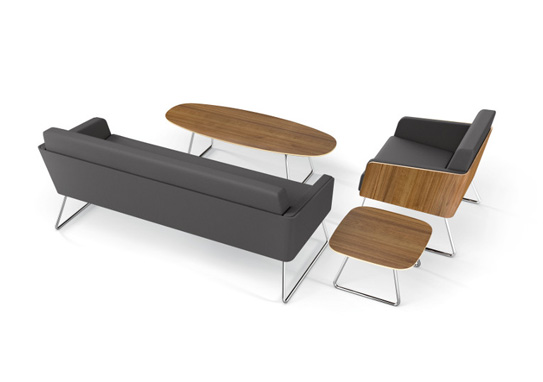 lyra office lounge seating: modern & classic look: ki furniture