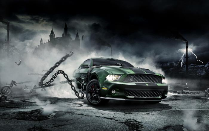 CG Mustang Monster by Mike Campau at Coroflot