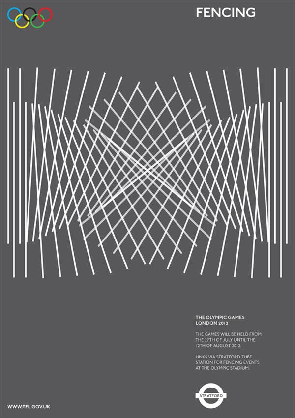 2012 Olympic Poster Proposal by Alan Clarke | bumbumbum
