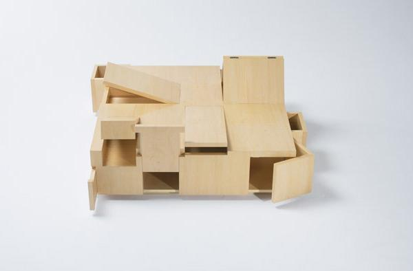 A Table Made of Secret Compartments | Colossal