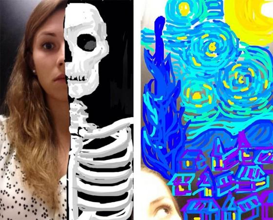 Deze chick is wel erg creatief met 'Snapchat' - Froot.nl