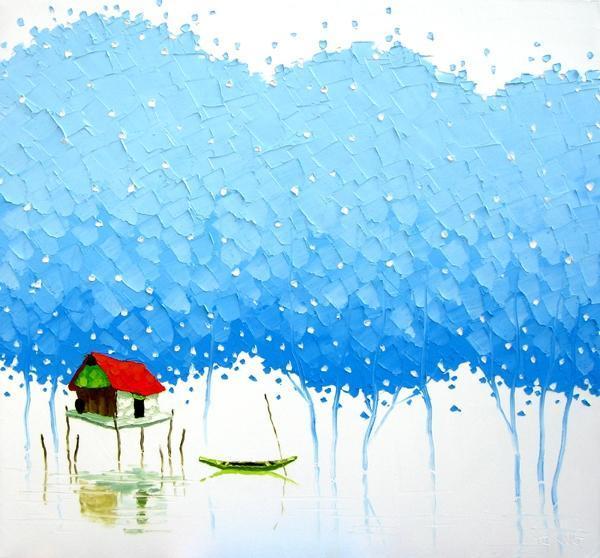 Vivid Paintings by Phan Thu Trang | Cuded