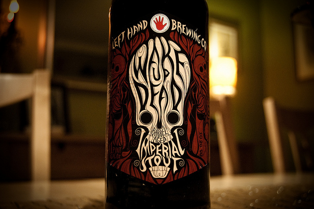 Left Hand Wake Up Dead Barrel Aged Imperial Stout | Flickr - Photo Sharing!