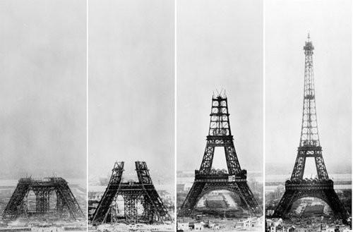 Piccsy :: Building The Eiffel Tower