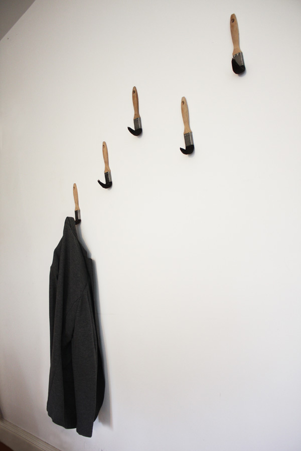 Paint Brush Coat Hooks | Colossal