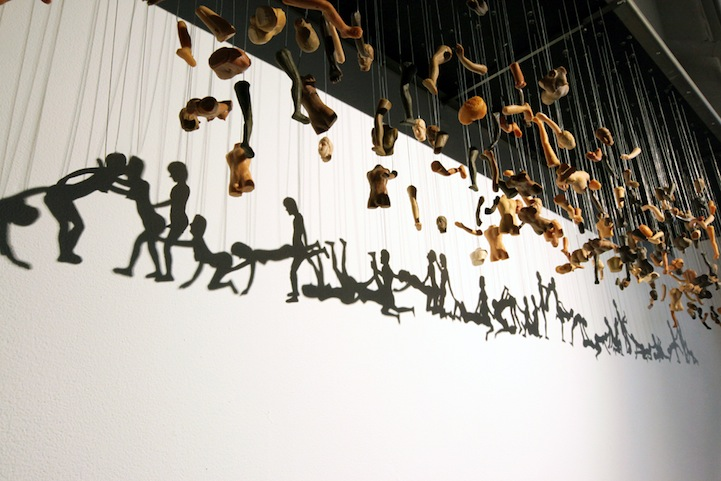 Juxtapoz Magazine - 'Unity' and other Installations by Bohyun Yoon