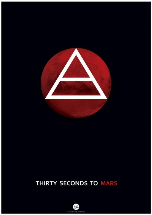 Piccsy :: Thirty Seconds To Mars Poster