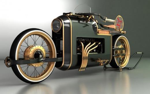 Piccsy :: Concept motorbikes by Mikhail Smolyanov