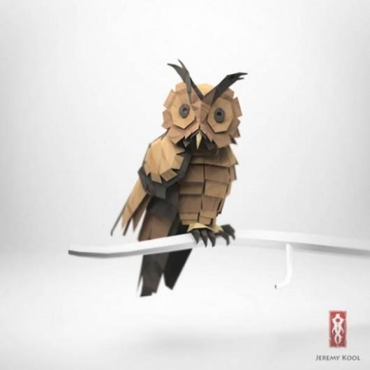 Piccsy :: Jeremy Kool Origami
