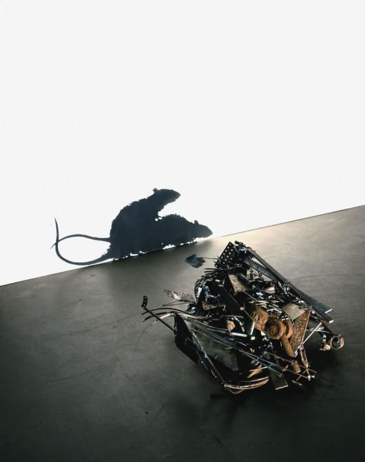 Piccsy :: Tim Noble & Sue Webster - Metal Fucking Rats, 2006