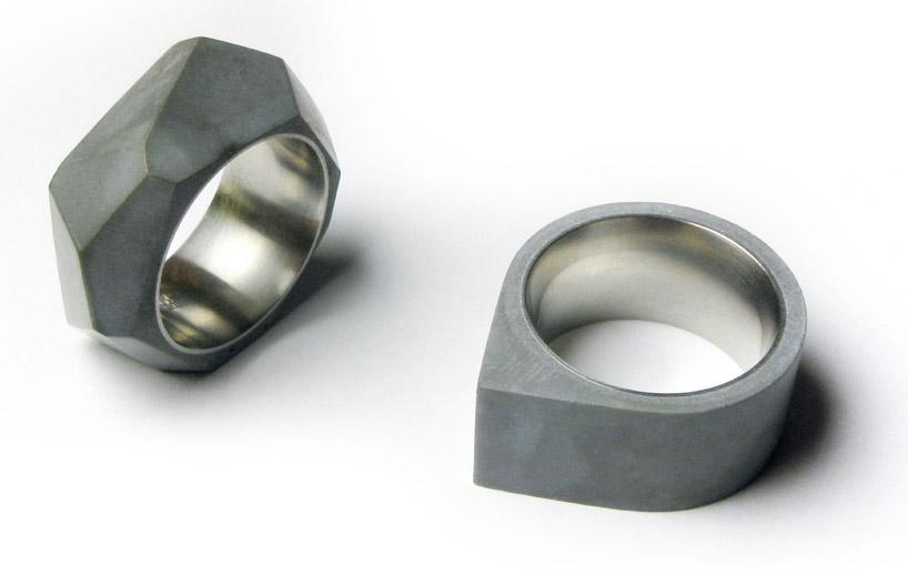 designboom shop: concrete rings