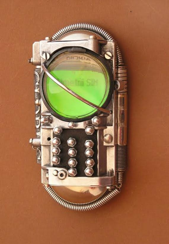 Functional Steampunk'd Cell Phones | Incredible Things