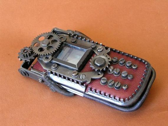 Functional Steampunk'd Cell Phones   Incredible Things