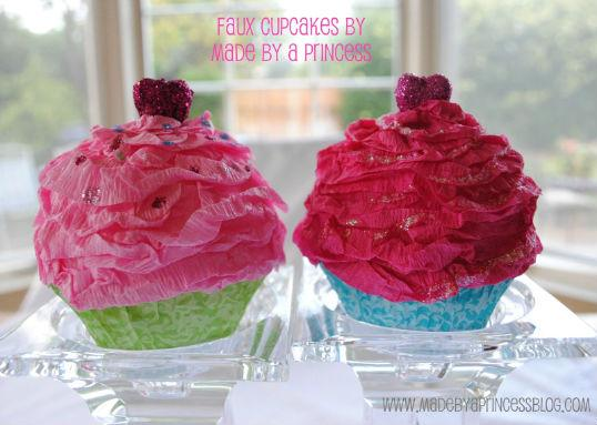 The Party Wagon - Blog - A CUPCAKE FOR KEEPS (Tutorial)