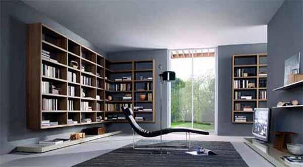Misuraemme Wooden Bookcase | Unique Home Interior