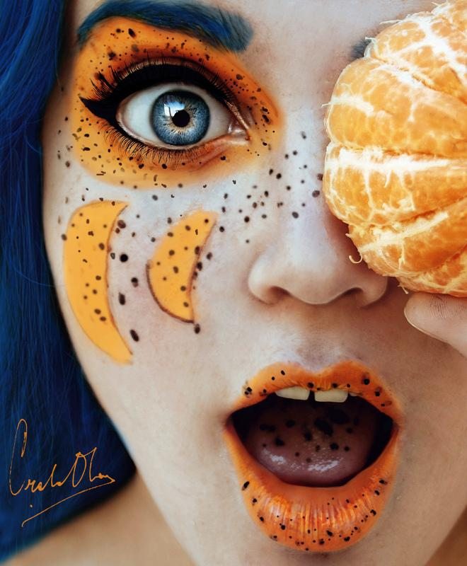 16-Year-Old's Wildly Fruity Self-Portraits - My Modern Metropolis