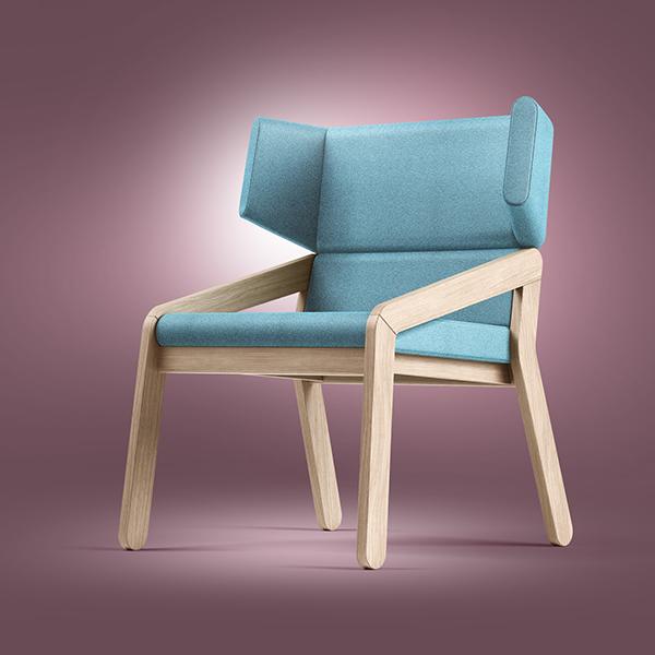 BASE light armchair on