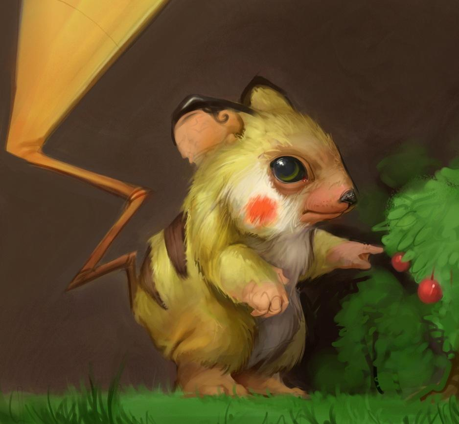 50 Realistic Pokémon Character Redesign From Great Artists - icanbeCreative