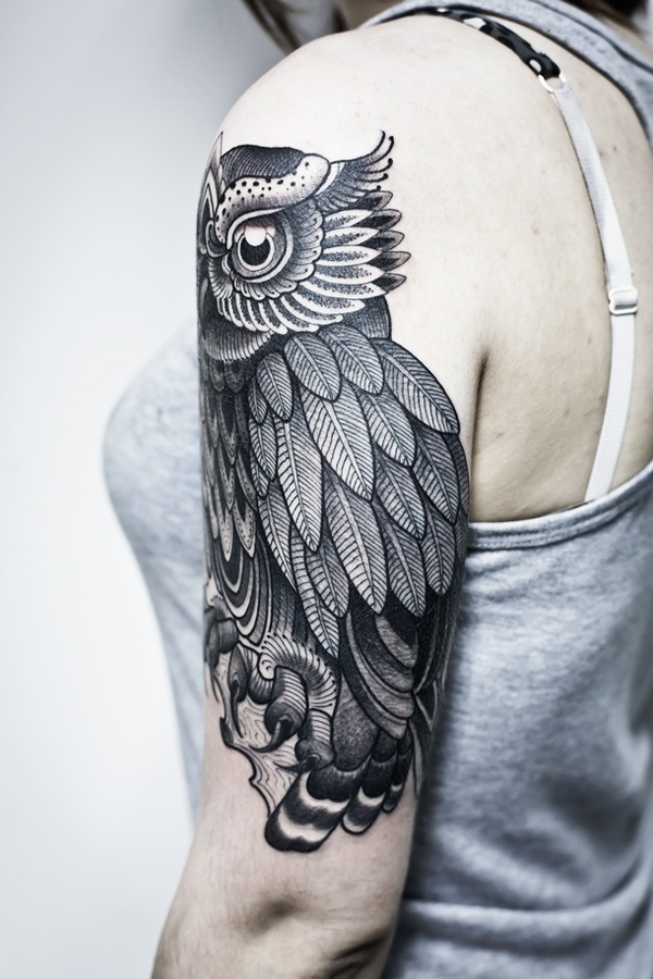 owl tattoo — Designspiration