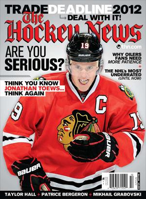 Toews graces The Hockey News' latest cover - Chicago Blackhawks - Blogs