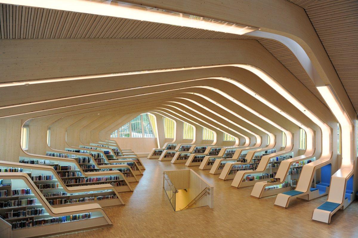Vennesla Library in Vennesla, Norway - Imgur