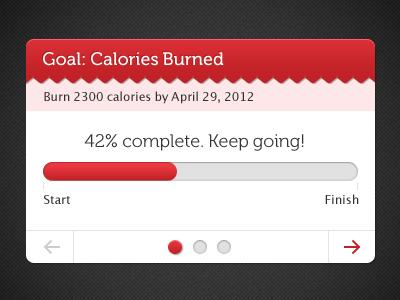 Goals: Calories Burned by Kyle Haapala