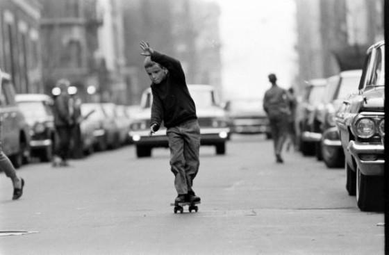 Skateboarden in 1960, New York « Froot.nl
