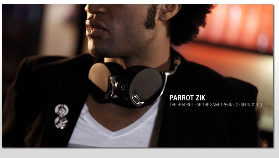 ZIK Parrot design by Starck - Headphones