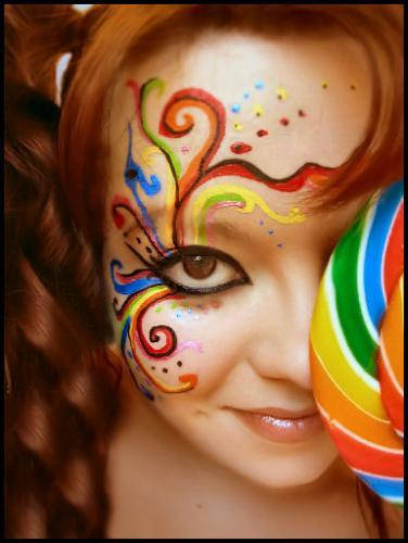 Picable - Photo Page: Beautiful Face Art Work