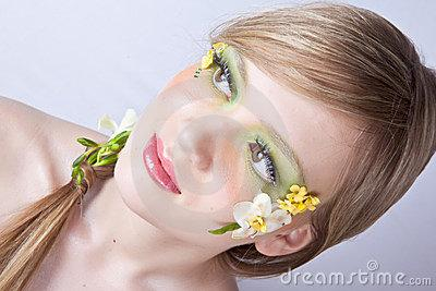 ????????? ?????? Google ??? http://www.dreamstime.com/flower-spring-face-art-portrait-thumb13025863.jpg