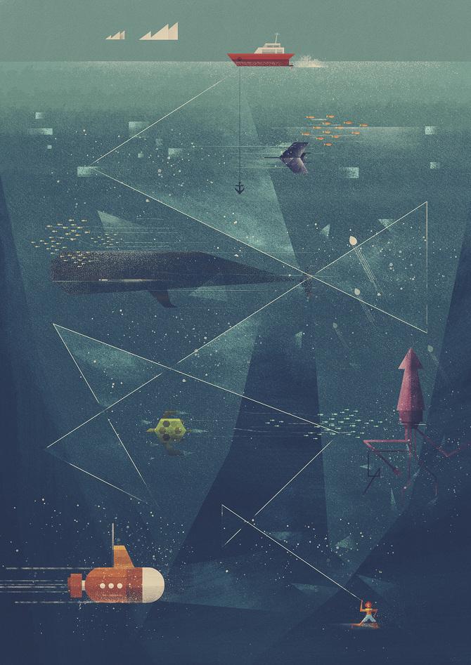 Poster Society – Dan Matutina is Twistedfork | Inspiration DE