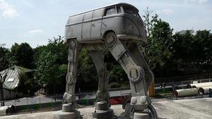 I Want This Imperial AT-AT Volkswagen Van