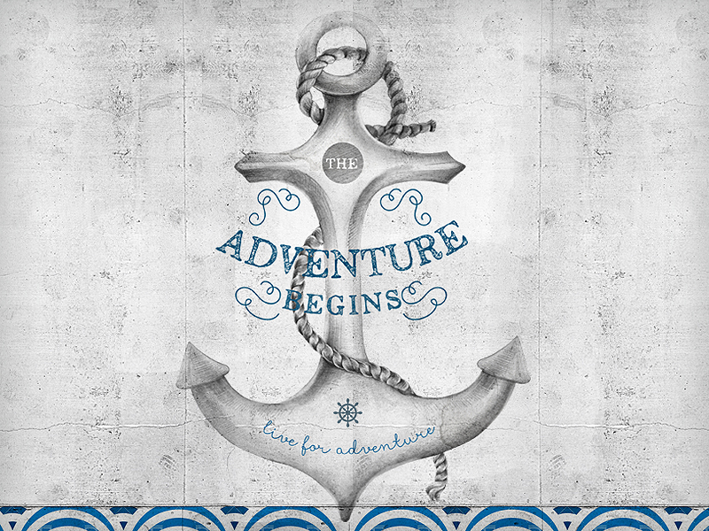 The adventure begins by So Nice Design