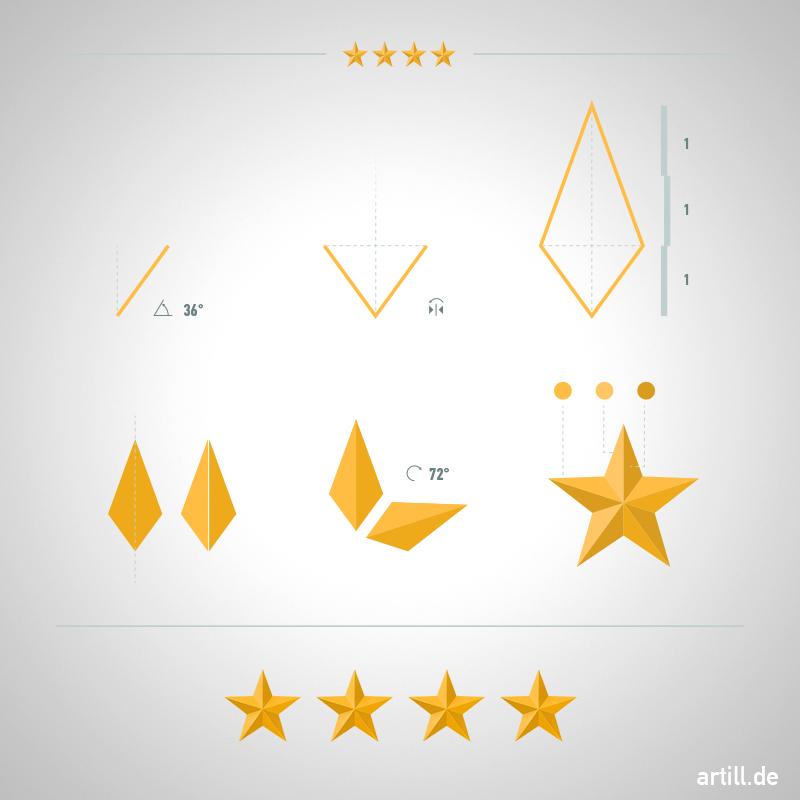 Illustrator Tip: How to Make a Beveled Star | artill blog | Inspiration DE