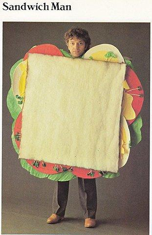 Mostly Forbidden Zone - Sandwich Man