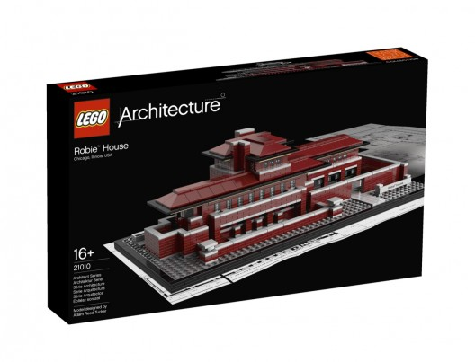 And the newest addition to LEGO Architecture is…Frank Lloyd Wright's Robie House | ArchDaily