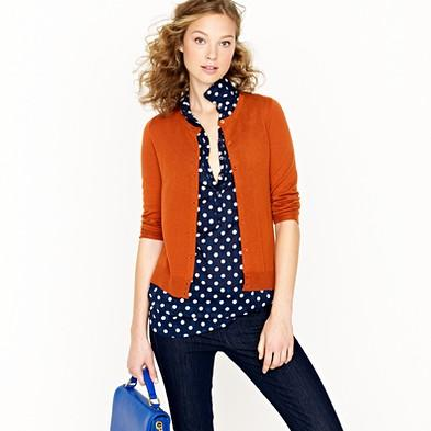 Featherweight cashmere cardigan - cardigans - Women's sweaters - J.Crew